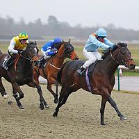 Kantara Castle and Sean Levey winning the 1.00 race