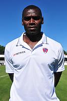 Eugene Ekobo Njoh - 07.08.2015 - Evian Thonon / Clermont - 2eme journee de Ligue 2<br /> Photo : Philippe Lebrech / Icon Sport