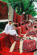 Rug salesman, Pakistan RESERVED USE - NOT FOR DOWNLOAD -  FOR USE CONTACT TIM GRAHAM