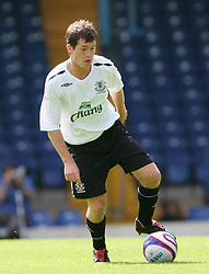 Bury, England - Saturday, July 7, 2007: Everton's Patrick Boyle in action against Bury during a pre-season friendly at Gigg Lane. (Photo by Dave Kendall/Propaganda)