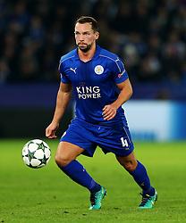 Daniel Drinkwater of Leicester City  - Mandatory by-line: Matt McNulty/JMP - 22/11/2016 - FOOTBALL - King Power Stadium - Leicester, England - Leicester City v Club Brugge - UEFA Champions League
