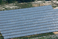 Aerial view of Solar panels in Vineland NJ