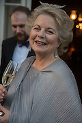 ANNA SOMERS COCKS, Professor Mikhail Piotrovsky Director of the State Hermitage Museum, St. Petersburg and <br /> Inna Bazhenova Founder of In Artibus and the new owner of the Art Newspaper worldwide<br /> host THE HERMITAGE FOUNDATION GALA BANQUET<br /> GALA DINNER <br /> Spencer House, St. James's Place, London<br /> 15 April 2015