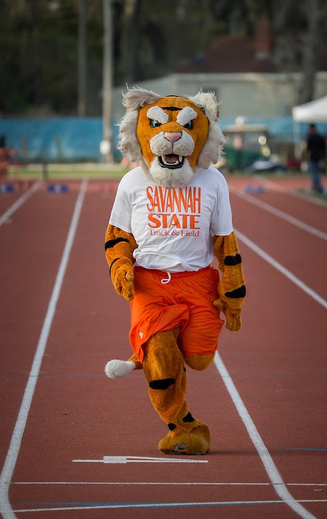 Savannah State University at a track meet, Wednesday, April 1, 2015, in Savannah, Ga.  (SSU Photo/Stephen B. Morton)
