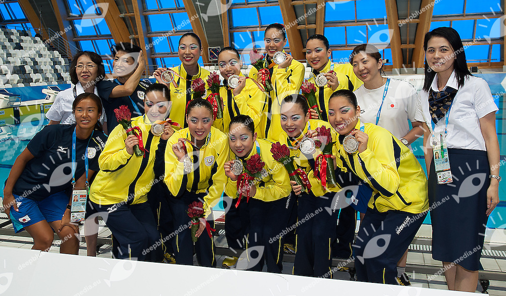 Japan JPN<br /> 27th Summer Universiade <br /> 5 - 17 July 2013 Kazan Tatarstan Russia<br /> Day 05 Synchronized swimming  Combo final<br /> Photo G. Scala/Insidefoto/Deepbluemedia.eu