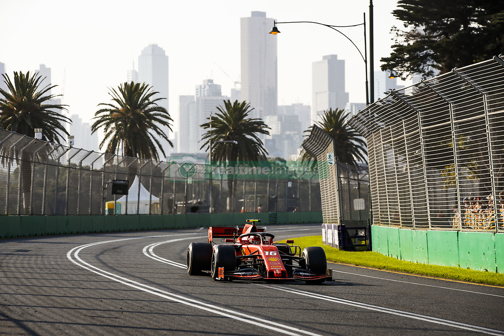 March 17, 2019 - Melbourne, Australia - Motorsports: FIA Formula One World Championship 2019, Grand Prix of Australia, ..#16 Charles Leclerc (MCO, Scuderia Ferrari Mission Winnow) (Credit Image: © Hoch Zwei via ZUMA Wire)