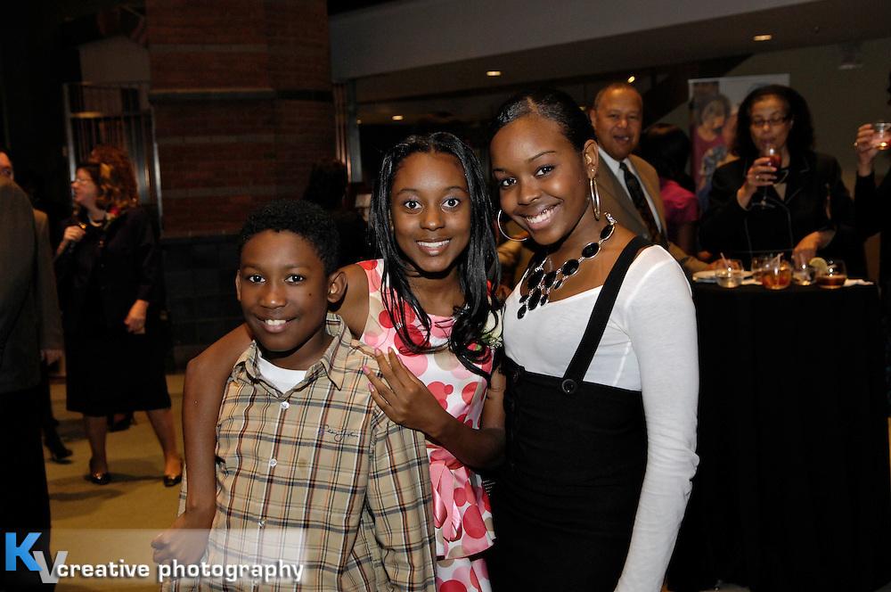 Michael Wilson, Najee Wilson, Erika DarbyBoys and Girls Club of NJ - Concert For Kids - Smokey Robinson 2009