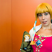 Stéphanie Potvin as Princess Zelda from Nintendo famous video game.