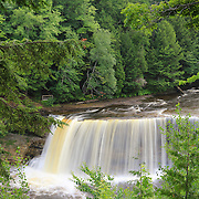 """Tahquamenon Upper Falls""10<br /> <br /> Beautiful and misty Tahquamenon Falls on a summer day!"