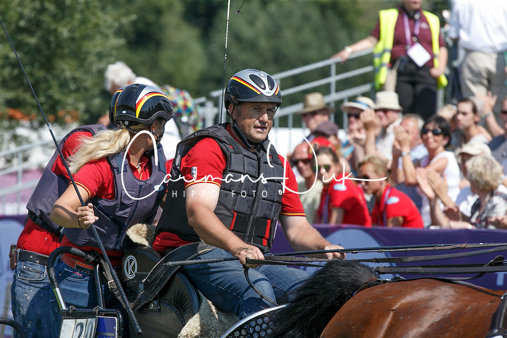 Sandmann Christoph, (GER), Amico 34, Asztor, Scicco, Variant<br /> Marathon Driving Competition<br /> European Championships - Aachen 2015<br /> &copy; Hippo Foto - Dirk Caremans<br /> 22/08/15