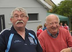 When Tipperary and Mayo meet again<br />Tipperary native and member of Westport GAA Club Jim Hogan with Paddy Muldoon at Westport GAA duing Feile weekend.