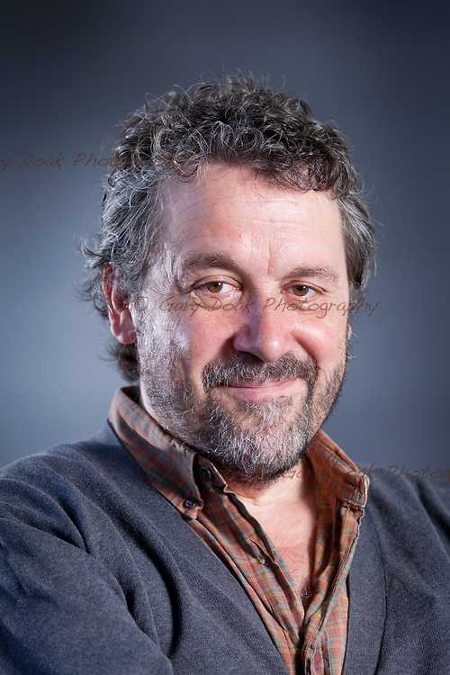 Edinburgh, UK. 12th August 2017. Dominic Dromgoole, the English theatre director and writer, appearing at the Edinburgh International Book Festival. <br /> <br /> Gary Doak