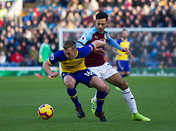 James Ward-Prowse of Southampton (L) and Dwight McNeil of Burnley in action - Mandatory by-line: Jack Phillips/JMP - 02/02/2019 - FOOTBALL - Turf Moor - Burnley, England - Burnley v Southampton - English Premier League