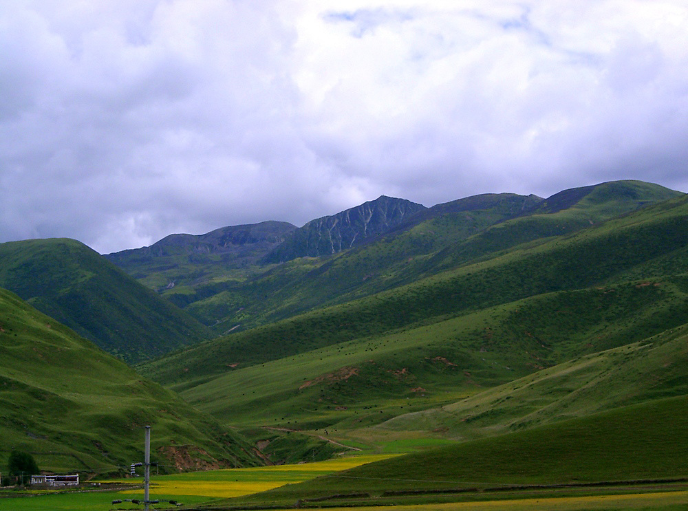Gharze mountain range