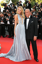 Romee Strjid and Fawaz Gruosi attending the screening of Everybody Knows (Todos Lo Saben) opening the 71st annual Cannes Film Festival at Palais des Festivals on May 8, 2018 in Cannes, France. Photo by Shootpix/ABACAPRESS.COM
