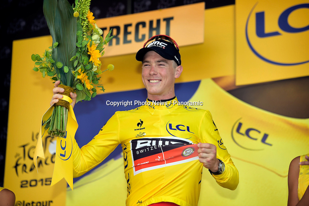 DENNIS Rohan of BMC Racing Team in action during the stage 1 of the 102nd edition of the Tour de France 2015 a individual time trial with start in Utrecht and finish in Utrecht, Netherlands (13,8 kms)