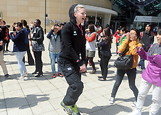Wellington-Netball, Silver Ferns flash mob at Te Papa