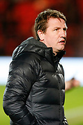 Daniel Stendel of Barnsley F.C. before during the EFL Sky Bet League 1 match between Doncaster Rovers and Barnsley at the Keepmoat Stadium, Doncaster, England on 15 March 2019.