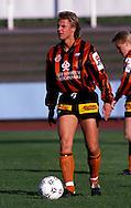 13.05.1990, Lahti.Jalkapalloliiga, Lahden Reipas v Mikkelin Palloilijat.Rami Rantanen - Reipas.©Juha Tamminen