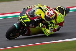 June 1, 2018 - Mugello, FI, Italy - Dominique Aegerter of Kiefer Racingof Moto 2 during the Free Practice 1 of the Oakley Grand Prix of Italy, at International  Circuit of Mugello, on June 01, 2018 in Mugello, Italy  (Credit Image: © Danilo Di Giovanni/NurPhoto via ZUMA Press)