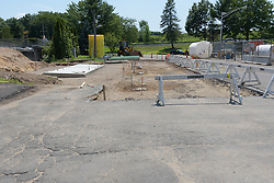 CT-DOT Project No. 173-456 Orange Maintenance Facility Tank Replacement. Construction Progress Photo Documentation on 27 July 2016. One of 30 Images Captured this Submission at both locations.