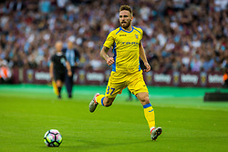 Zan Majer of NK Domzale during 2nd Leg football match between West Ham United FC and NK Domzale in 3rd Qualifying Round of UEFA Europa league 2016/17 Qualifications, on August 4, 2016 in London, England.  Photo by Ziga Zupan / Sportida