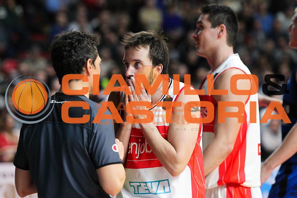 Daniele Cavaliero<br /> Openjobmetis Pallacanestro Varese - Germani Basket Brescia Leonessa<br /> Lega Basket Serie A 2016/2017<br /> Varese 19/11/2016<br /> Foto Ciamillo-Castoria -