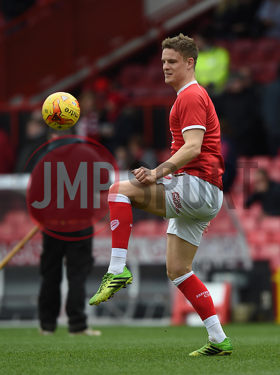 Bristol City's Matt Smith warms up before the Sky Bet League One game between Bristol City and Rochdale on 28 February 2015 in Bristol, England - Photo mandatory by-line: Paul Knight/JMP - Mobile: 07966 386802 - 28/02/2015 - SPORT - Football - Bristol - Ashton Gate Stadium - Bristol City v Rochdale - Sky Bet League One