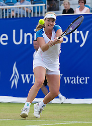 LIVERPOOL, ENGLAND - Friday, June 21, 2013: Coco Vandeweghe during Day Two of the Liverpool Hope University International Tennis Tournament at Calderstones Park. (Pic by David Rawcliffe/Propaganda)