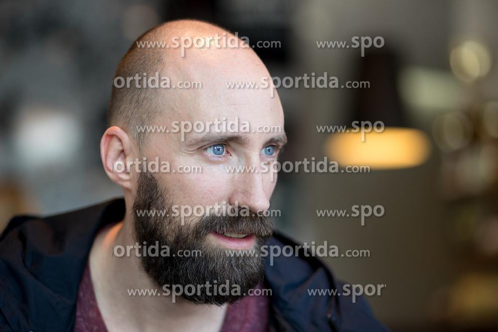 Portrait of Vid Kavticnik, Slovenian handball player currently playing for Montpellier Handball, on May 4, 2017 in Hotel Mons, Ljubljana, Slovenia. Photo by Matic Klansek Velej / Sportida