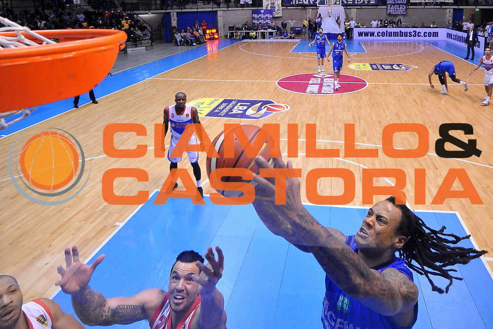 David Moss<br /> Red October Cantu - Germani Leonessa Basket Brescia<br /> LegaBasket Serie A 2017/2018<br /> Desio, 04/12/2017<br /> Foto M.Ceretti / Ciamillo - Castoria