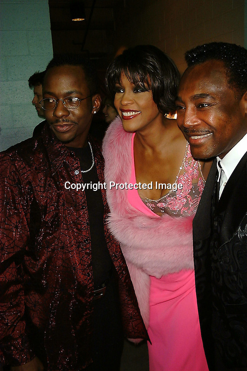 Bobby Brown, Whitney Houston &amp; George Benson<br />