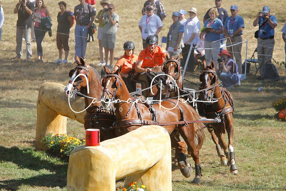 De Ronde Koos (NED) <br /> Alltech FEI World Equestrian Games <br /> Lexington - Kentucky 2010<br /> &copy; Hippo Foto - Dirk Caremans