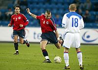 Fotball, 28. april 2004, Privatlandskamp, Norge-Russland 3-2, Magne Hoset, Norge