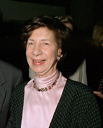 WENDY BARON, Director of the Government Art Collection, at a reception in London on 13th May 1997.LYH 68 WO