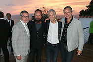 CAP D'ANTIBES, FRANCE - JUNE 23:  iHeartMedia Chairman And CEO Bob Pittman, Sting,  John Sykes and Tom Polemanattend a dinner party hosted by iHeartMedia and Medialink at Hotel du Cap-Eden-Roc in Antibes, France during the Cannes Lions Festival, featuring a special performance by Sting.  (Photo by Tony Barson/Getty Images for iHeartMedia)