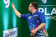 Robert Owen during the PDC Darts Players Championship at  at Butlins Minehead, Minehead, United Kingdom on 24 November 2017. Photo by Shane Healey.