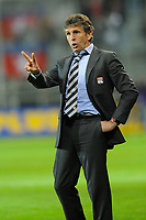 FOOTBALL - FRENCH CHAMPIONSHIP 2010/2011 - L1 - STADE BRESTOIS v OLYMPIQUE LYONNAIS - 16/05/2011 - PHOTO PASCAL ALLEE / DPPI -  CLAUDE PUEL (OL) THE COACH