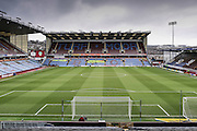 Turf Moor Stadium during the Sky Bet Championship match between Burnley and Blackburn Rovers at Turf Moor, Burnley, England on 5 March 2016. Photo by Simon Davies.