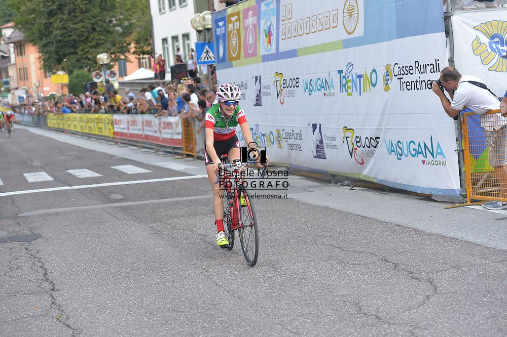 Ciclismo giovanile, 10A Coppa di Sera, Esordienti Donne, Borgo Valsugana 10 settembre 2016 <br /> Barale Francesca<br /> © foto Daniele Mosna