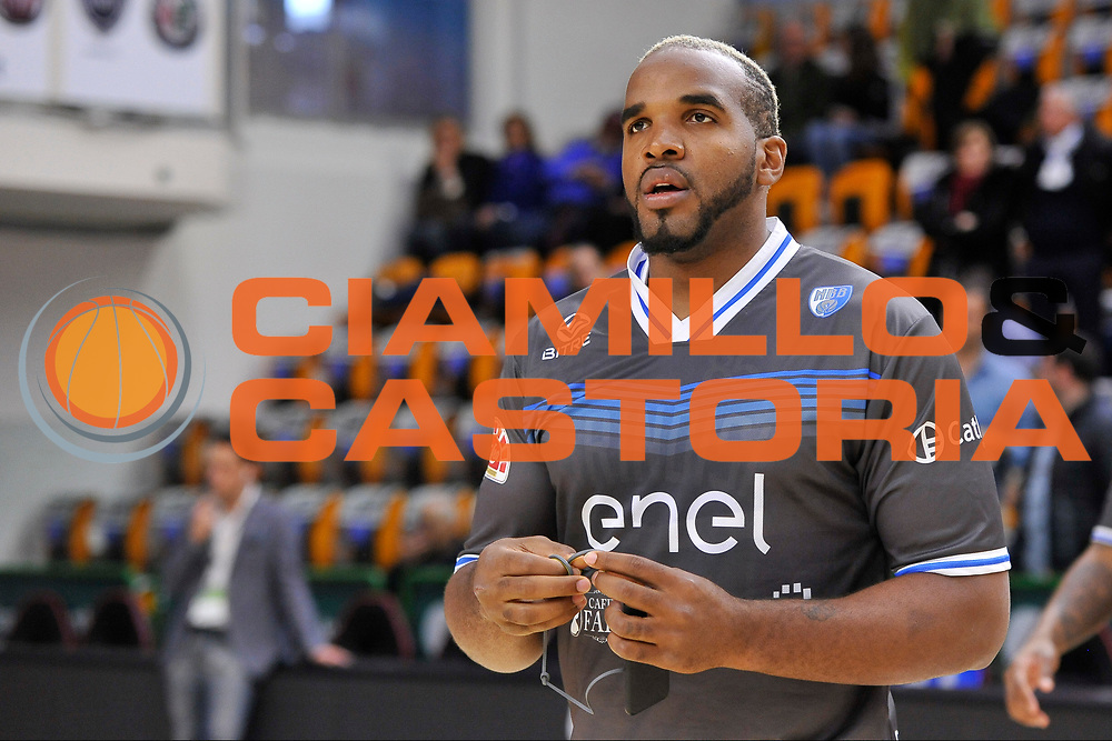 Samardo Samuels<br /> Banco di Sardegna Dinamo Sassari - Enel New Basket Brindisi<br /> LegaBasket Serie A LBA Poste Mobile 2016/2017<br /> Sassari 02/04/2017<br /> Foto Ciamillo-Castoria