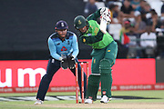 Rassie van der Dussen during the One Day International match between South Africa and England at PPC Newlands, Capetown, South Africa on 4 February 2020.
