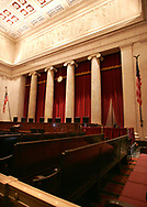 A 24 MG IMAGE OF:<br /> The chamber of the Supreme Court in Washington, DC.  Photo by Dennis Brack