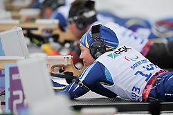 SHYSHKOVA Oksana Guide: NESTERENKO Lada, Biathlon at the 2014 Sochi Winter Paralympic Games, Russia