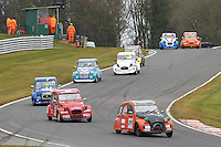 #89 Nick CRISPIN Citroen 2CV 602 during 2CVParts.com Classic Championship as part of the BARC NW - Championship Raceday  at Oulton Park, Little Budworth, Cheshire, United Kingdom. March 19 2016. World Copyright Peter Taylor/PSP. Copy of publication required for printed pictures.  Every used picture is fee-liable.