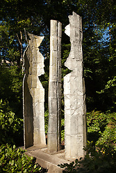 North America, United States, Washington, Bellevue, public art at Meydenbauer Beach Park
