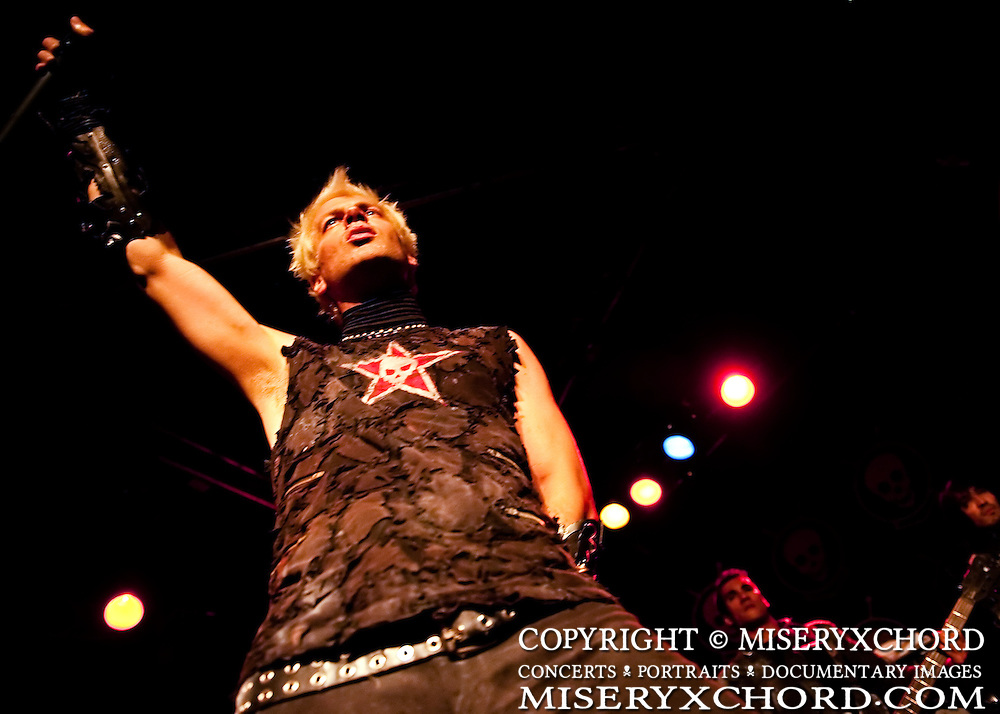 Powerman 5000 performs at The Whiskey A Go-Go in West Hollywood California USA on September 24, 2009
