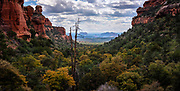 Fay Canyon View, Sedona Araziona.