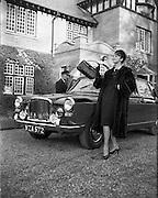 Fur Coats for McConnells.10.11.1961