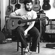 Fred Oster. Proprietor of Vintage Instruments,  Philadelphia, PA. c. 1976